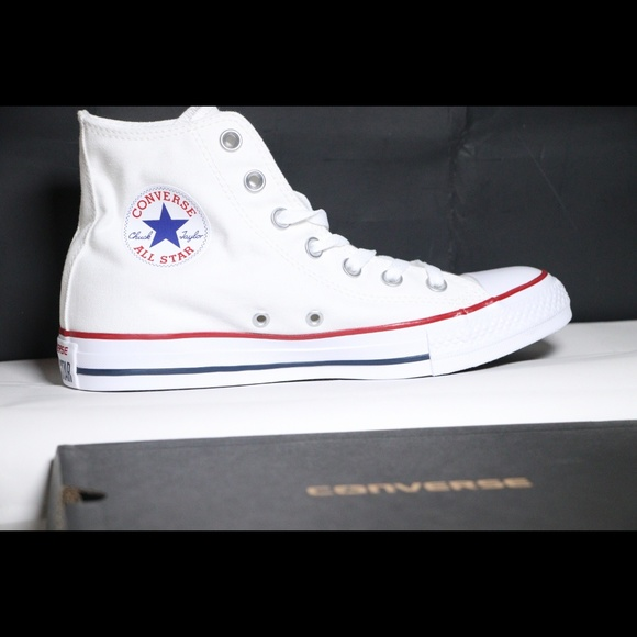 Converse Classic White All Star High Top NWT